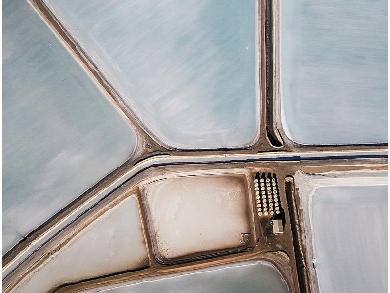 Salt Flats Aerial Photography
