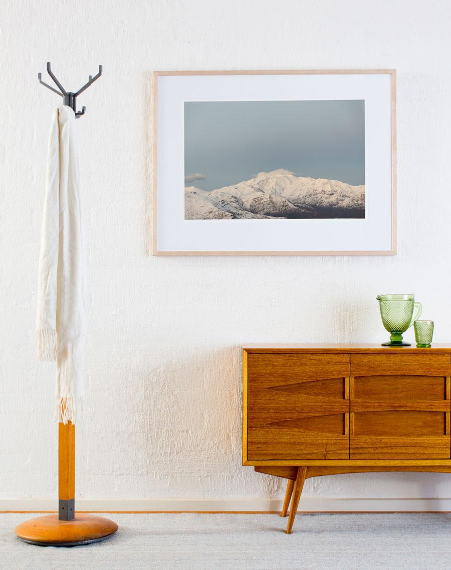 Art prints in Australian home