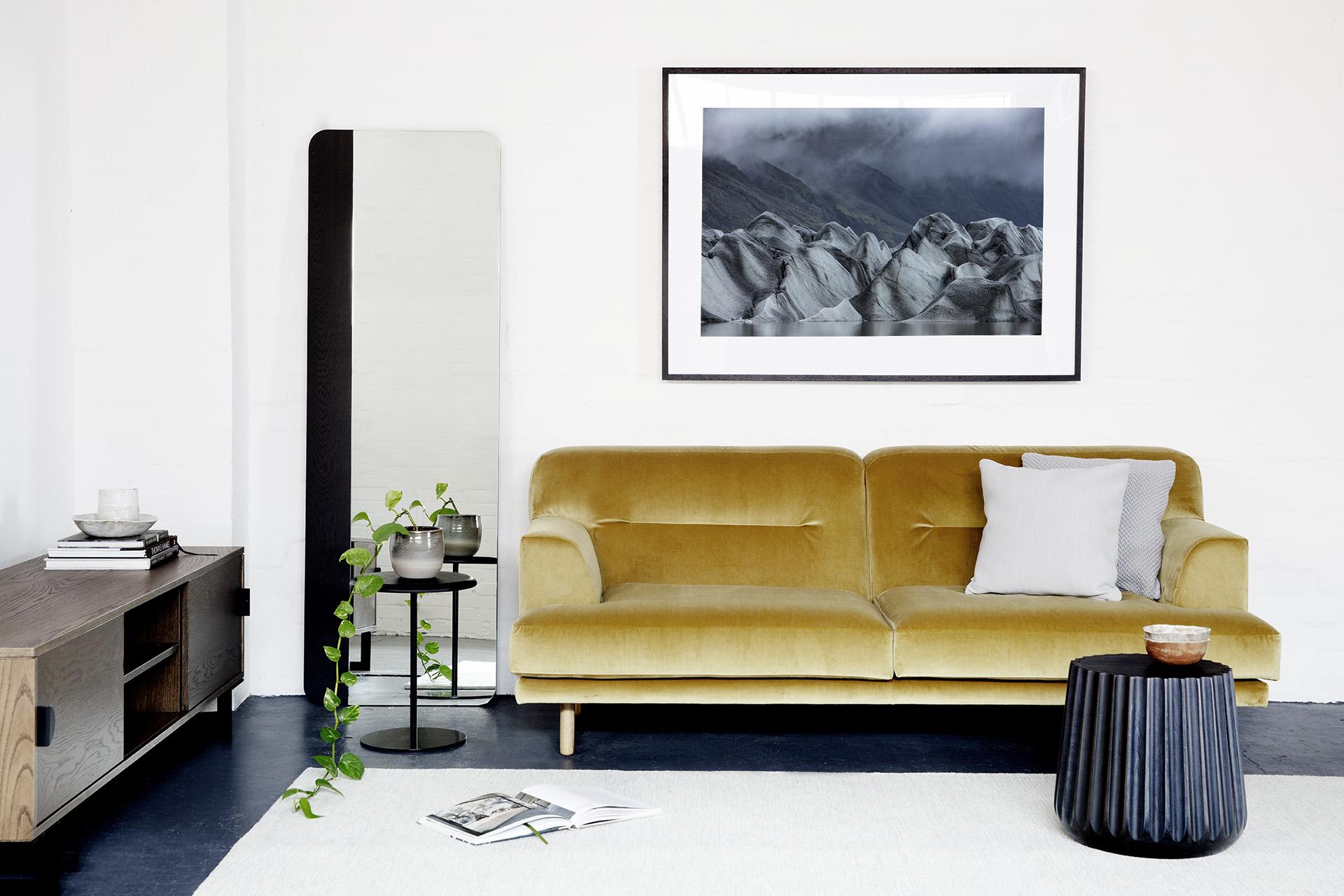 Iceland Art Print in Australian home