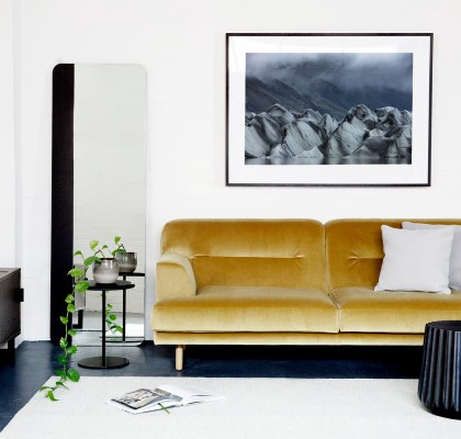 Iceland Art Print in Australian home