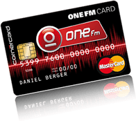 ONE FM CARD