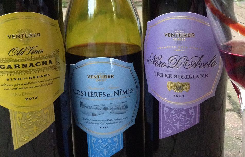 Aldi Venturer range UK wine review