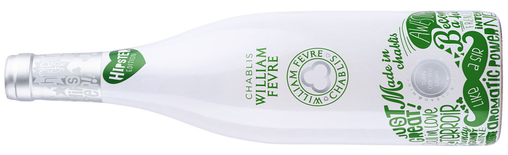 Chablis Hipster ultraviolet wine bottle review