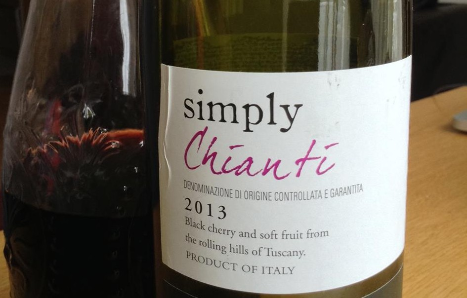 Tesco's Simply wines: Tesco Simply Chianti wine