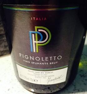 Tesco Pignoletto spumante review