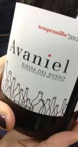 Avaniel Ribera del Duero wine