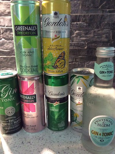 Gin and tonic reviews