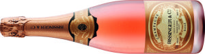 Champagne Brut Rosé, Bissinger, Lidl wine review