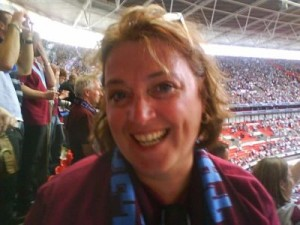 Claretsgirl Burnley play-off final