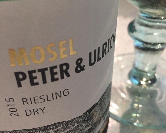 Peter & Ulrich Dry Riesling German wine