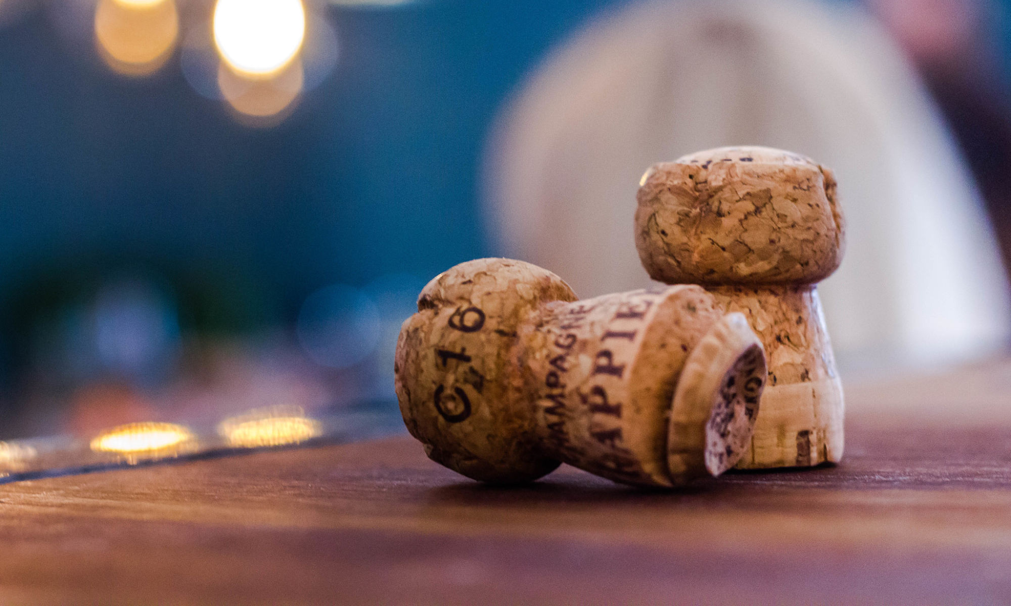 Champagne corks One Foot in the Grapes Jane Clare Instagram gallery