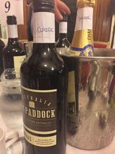 The Paddock Shiraz bottle