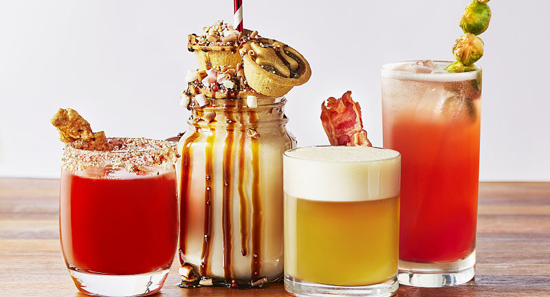 Festive cocktails smith & sinclair