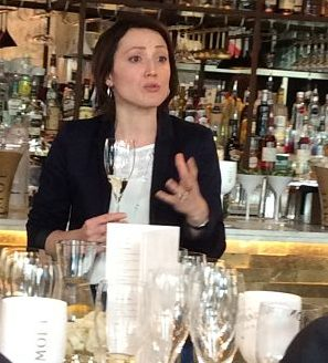 Marie-Christine Osselin from Moet & Chandon