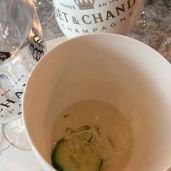 Moet Ice Imperial in a glass