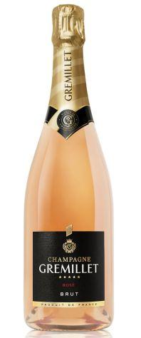 Gremillet Rose Assemblage Brut champagne