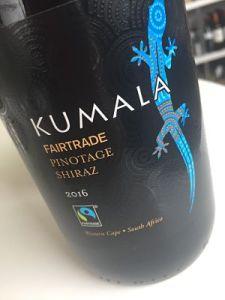 Kumala Fairtrade Pinotage Shiraz Co-operative wine