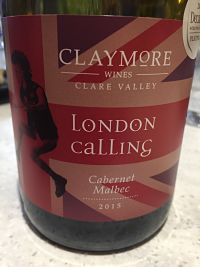 Claymore Wine London Calling
