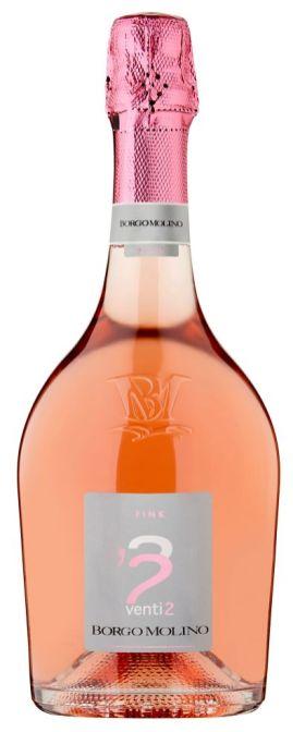 Borgo Molino Rose Spumante Extra Dry Valentine's Day