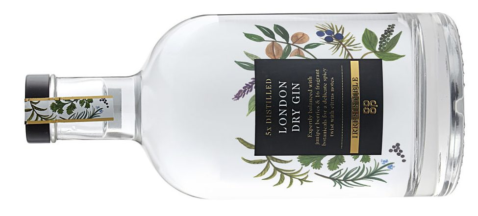 The Co-operative Irresistible London Dry Gin - gin reviews