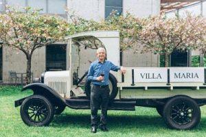 Sir George Fistonich Villa Maria