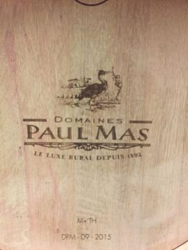 Domaines Paul Mas barrels Jean-Claude Mas