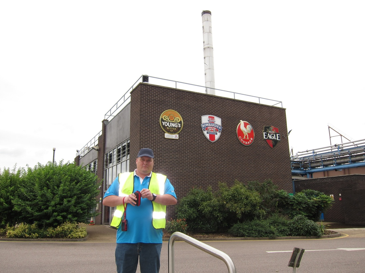 Jason's trip to the Wells and Youngs Brewery