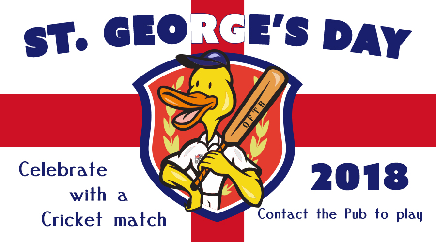 St. George's Day Cricket 2018