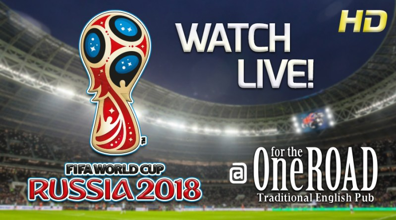 Watch World Cup Football at OFTR