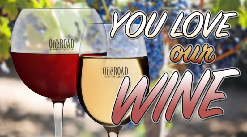 YOU love our DRAUGHT Wine!