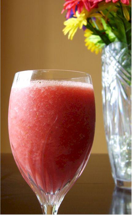 vegan soul strawberry watermelon smoothie