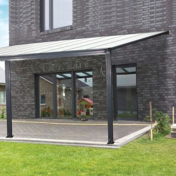 kingston 10x10 lean to carport patio cover
