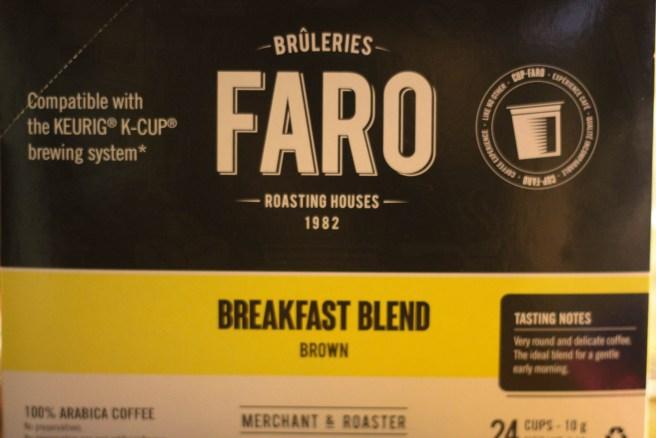 Faro Roasting Houses Breakfast Blend