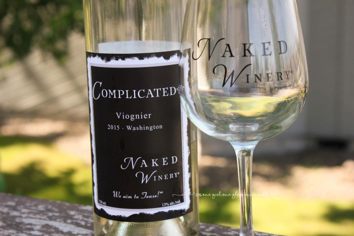 """Naked Winery """"Complicated"""" Viognier"""