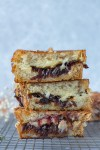 Grilled cheese with rosé caramelized onion jam