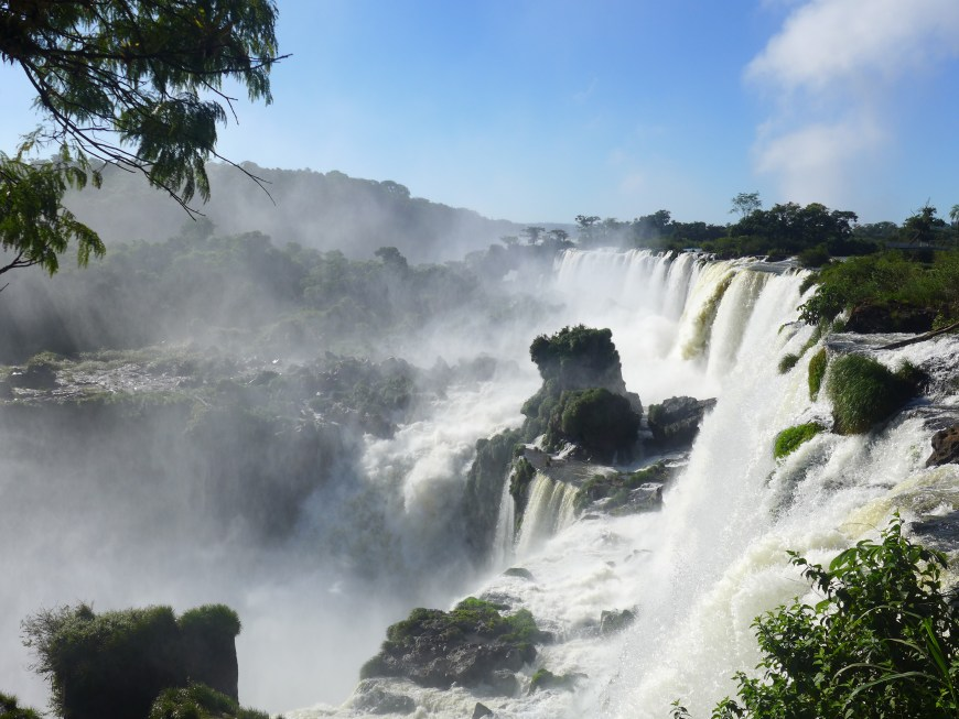 The Upper Circuit in Iguazu Falls...tips and tricks for making the most of a visit to the falls.