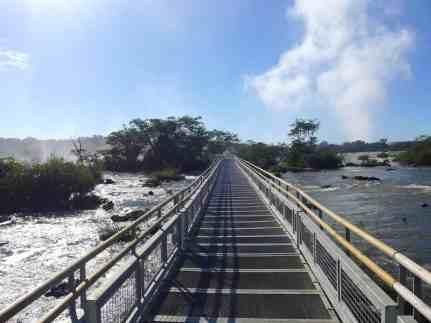 Iguazu Falls walkway