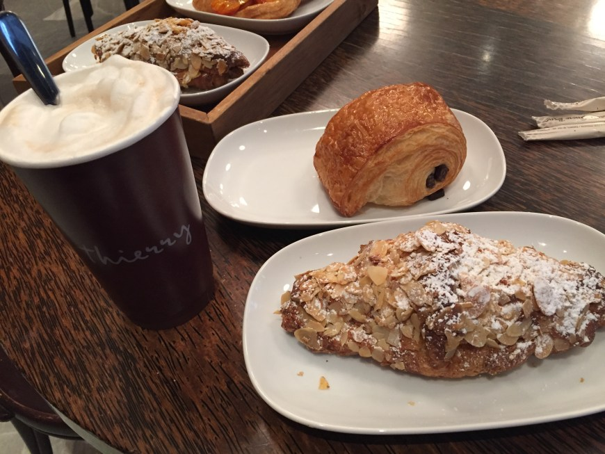 Thierry in downtown Vancouver has the best French pastries & coffee