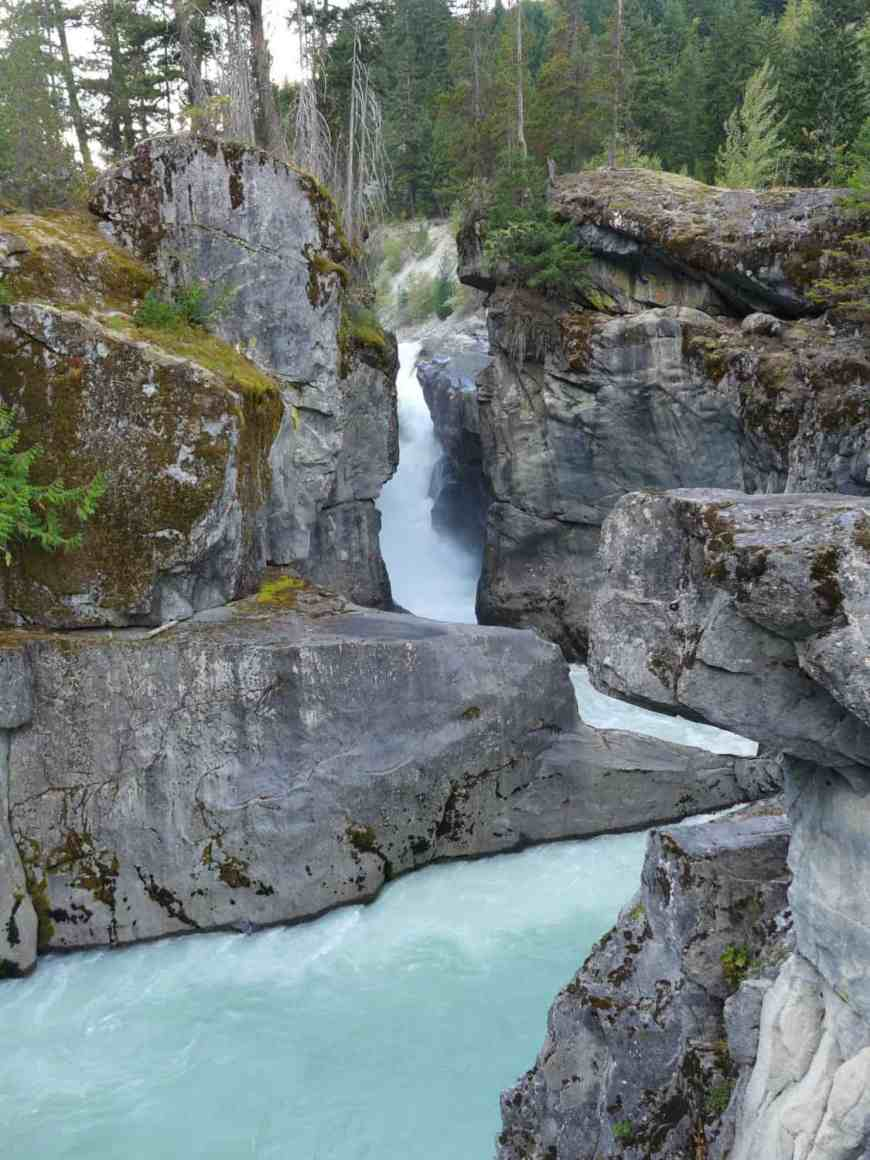 Nairn Falls, between Whistler and Joffre Lakes