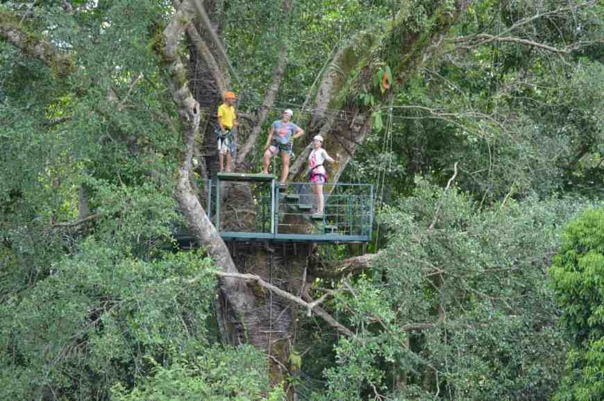 Tips for ziplining in Costa Rica, near Manuel Antonio