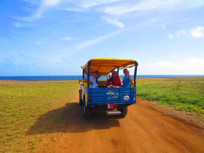 Aruban safari tours take you all over the island, a perfect day trip