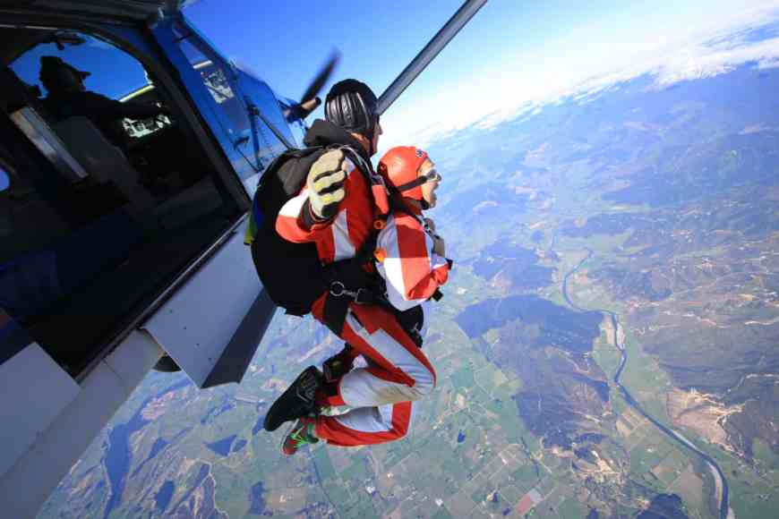 Taking the plunge with Skydive Abel Tasman, my first time skydiving