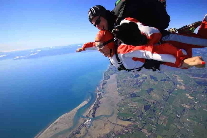 Things to know about skydiving in New Zealand