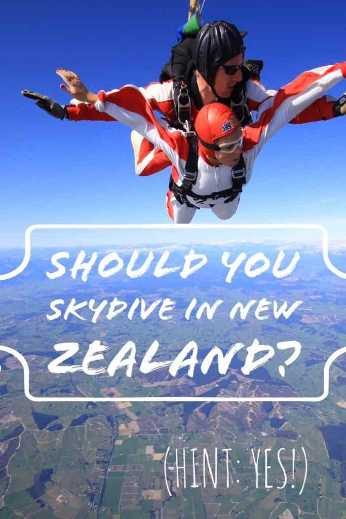 Everything you need to know about skydiving in New Zealand
