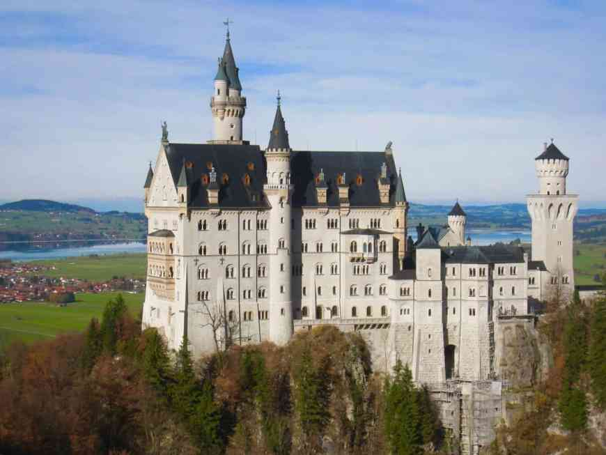 Neuschwanstein Castle is one of the most iconic castles in Europe