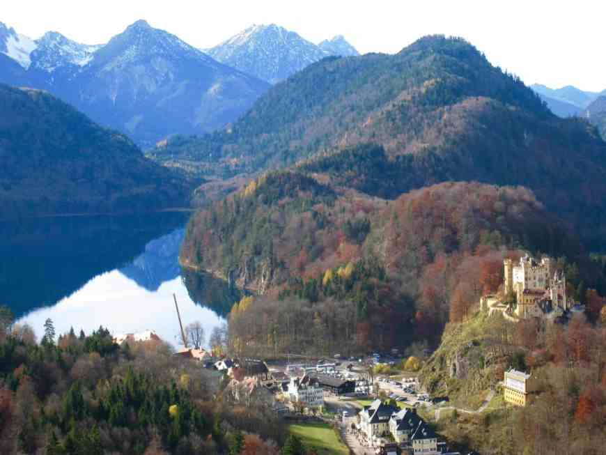 Lesser-known Hohenschwangau Castle is worth a visit