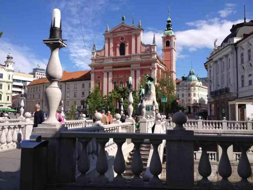 Ljubljana is a beautiful, vibrant city...for a special dinner try Restavricija Strelec in Ljubljana Castle