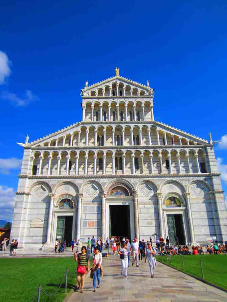 Everything you need to know about visiting Pisa's Leaning Tower and Campo dei Miracoli...an easy day trip from Florence (less than 10 euro train, under an hour)