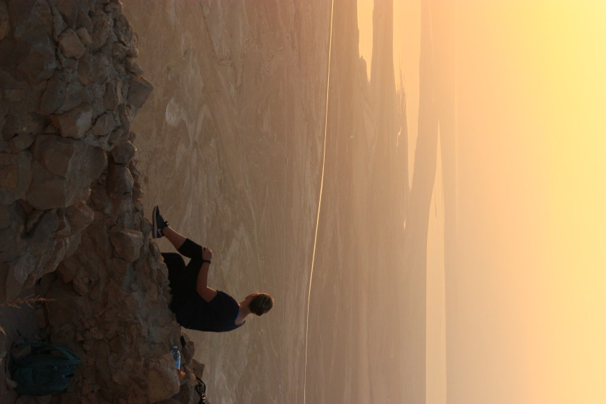 Sitting on the edge of the world, watching sunrise over Masada...worth the challenging pre-dawn hike. Get a tour group to take care of the transportation.