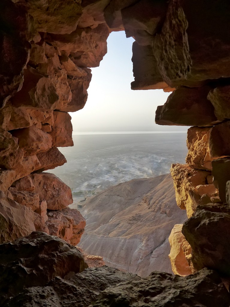 The views from Masada are well worth the climb, especially for sunrise